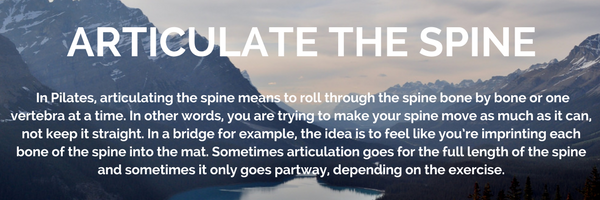 Pilates Terminology